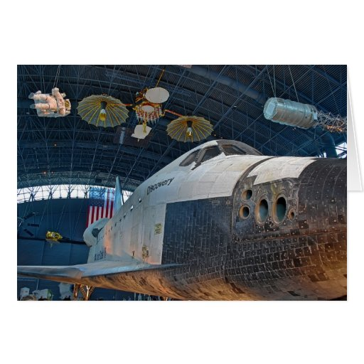Space Shuttle Notecard Greeting Cards