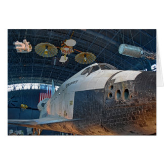 Space Shuttle Notecard Note Card