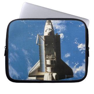 Space Shuttle Orbiting Earth 2 Laptop Sleeves