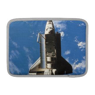 Space Shuttle Orbiting Earth 2 MacBook Sleeve