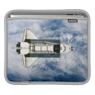 Space Shuttle Orbiting Earth 3 iPad Sleeve