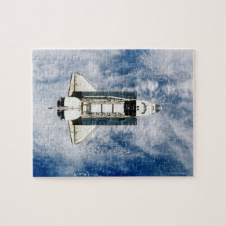 Space Shuttle Orbiting Earth 3 Jigsaw Puzzle