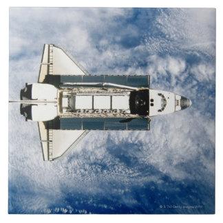 Space Shuttle Orbiting Earth 3 Tile