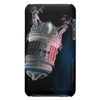 Space Shuttle Orbiting Mars iPod Case-Mate Cases