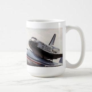 space shuttle piggy-back mug
