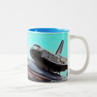 space shuttle piggy-back mugs