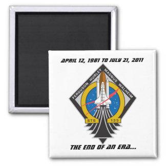 Space Shuttle Program Commemorative Magnet