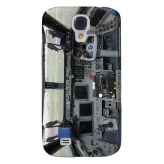 Space Shuttle Sim Aircraft Cockpit Galaxy S4 Case