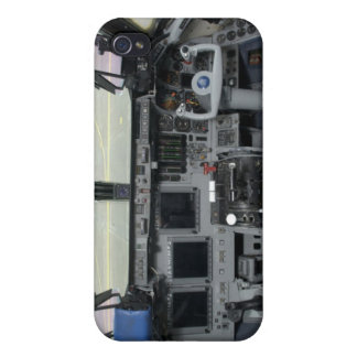 Space Shuttle Sim Aircraft Cockpit Cover For iPhone 4