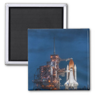 space shuttle square magnet