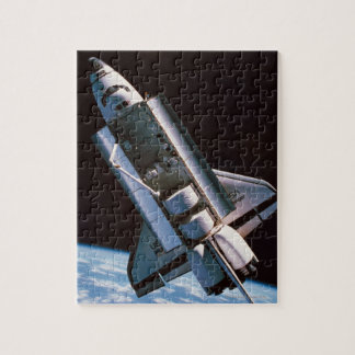 Space Shuttle with Open Cargo Bay Jigsaw Puzzle