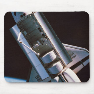 Space Shuttle with Open Cargo Bay Mouse Mat