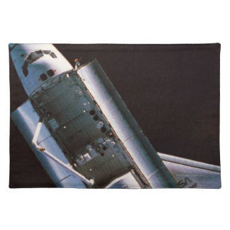 Space Shuttle with Open Cargo Bay Placemats