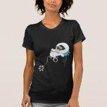 Space Skull Blue Tee Shirt