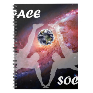 SPACE SOCCER. NOTEBOOK