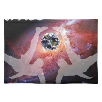 SPACE SOCCER. PLACEMAT