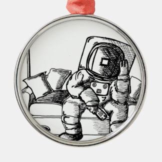 Space sofa christmas ornament