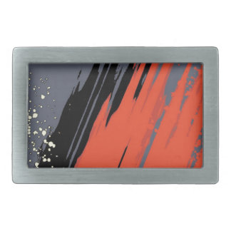 Space Splash Rectangular Belt Buckles