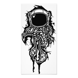 space squid photo print