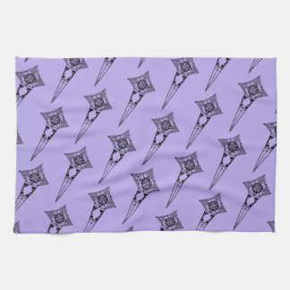 Space star fish - tribal boho pattern space towl towel