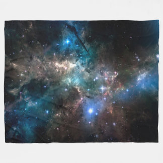 SPACE STARS FLEECE BLANKET