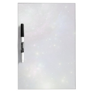 Space, stars, galaxies and nebulas dry erase board