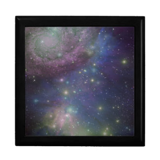 Space, stars, galaxies and nebulas gift box