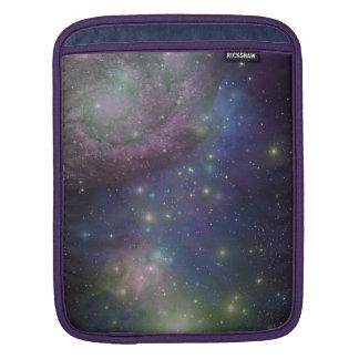 Space, stars, galaxies and nebulas iPad sleeve