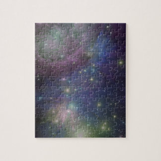 Space, stars, galaxies and nebulas puzzles