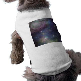 Space, stars, galaxies and nebulas shirt