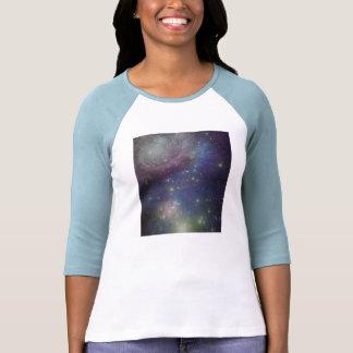 Space stars galaxies and nebulas tees