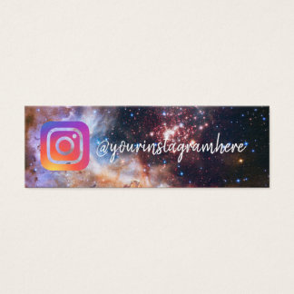space stars universe social media business card