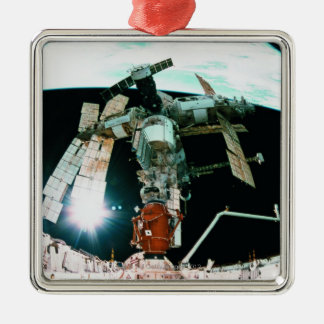 Space Station Christmas Ornament