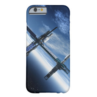 Space station. Computer artwork of a space Barely There iPhone 6 Case