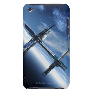 Space station. Computer artwork of a space iPod Touch Case-Mate Case