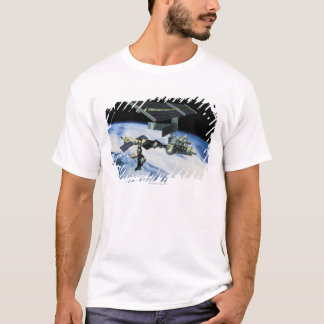 Space Station in Orbit 10 T-Shirt