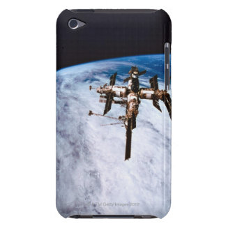 Space Station in Orbit 11 Barely There iPod Covers