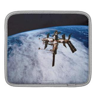 Space Station in Orbit 11 iPad Sleeves