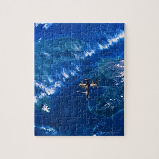 Space Station in Orbit 2 Jigsaw Puzzle