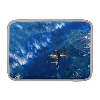Space Station in Orbit 2 MacBook Sleeve