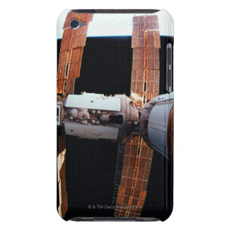 Space Station in Orbit 3 Barely There iPod Covers