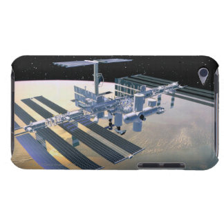 Space Station in Orbit 4 iPod Case-Mate Cases