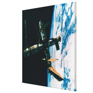Space Station in Orbit 5 Canvas Print