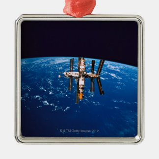 Space Station in Orbit 5 Christmas Ornament