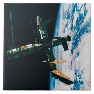 Space Station in Orbit 6 Tile