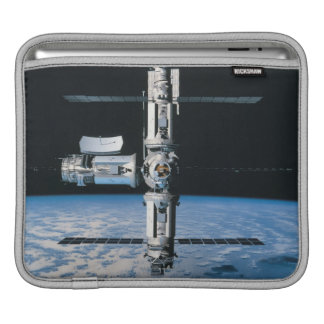 Space Station in Orbit 7 iPad Sleeve