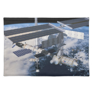 Space Station in Orbit 9 Placemat