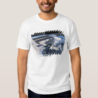 Space Station in Orbit 9 Tee Shirt