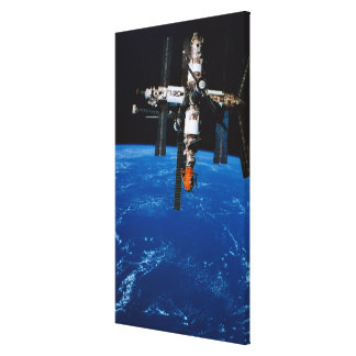 Space Station in Orbit Canvas Print
