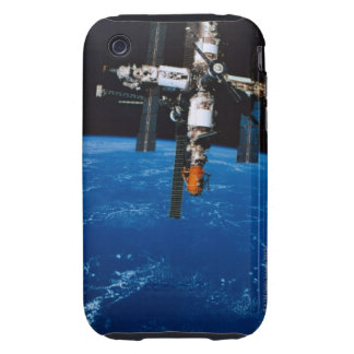 Space Station in Orbit iPhone 3 Tough Cover